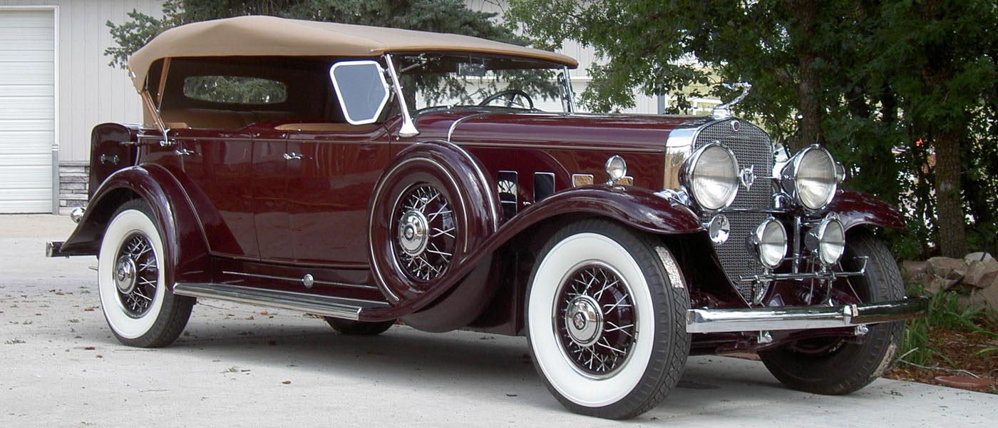1931 Cadillac V12 Phaeton