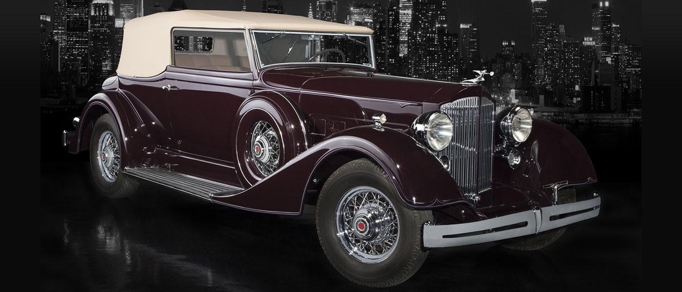 1934 Packard Std. 8 Conv. Vic.