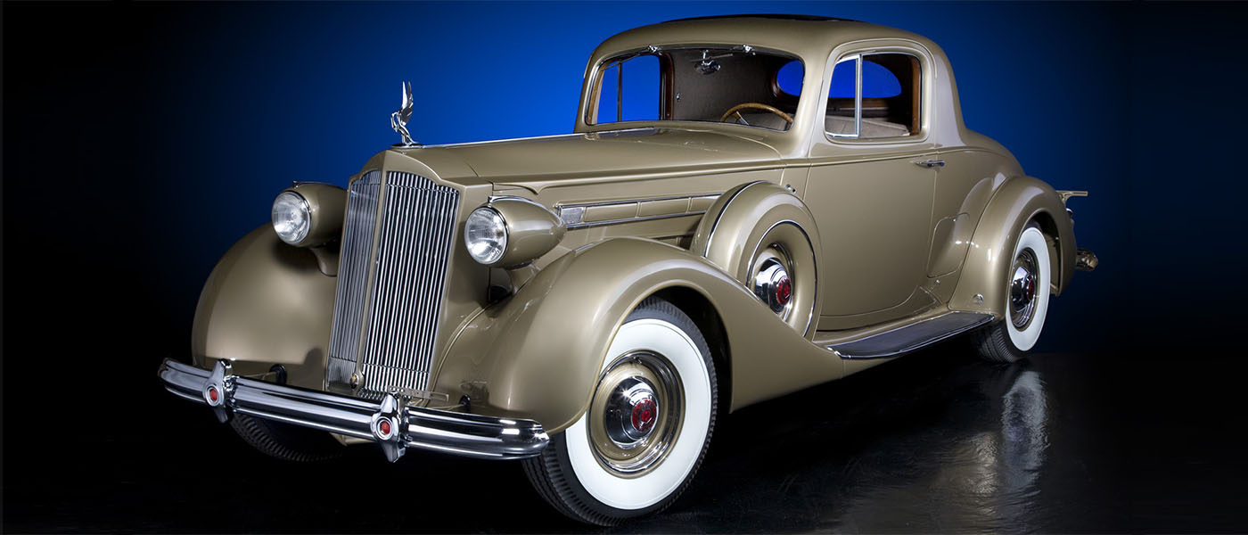 1937 Packard V12 Coupe