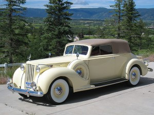 1939 Packard Conv Vic
