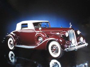 1937 1507 Coupe Roadster Maroon