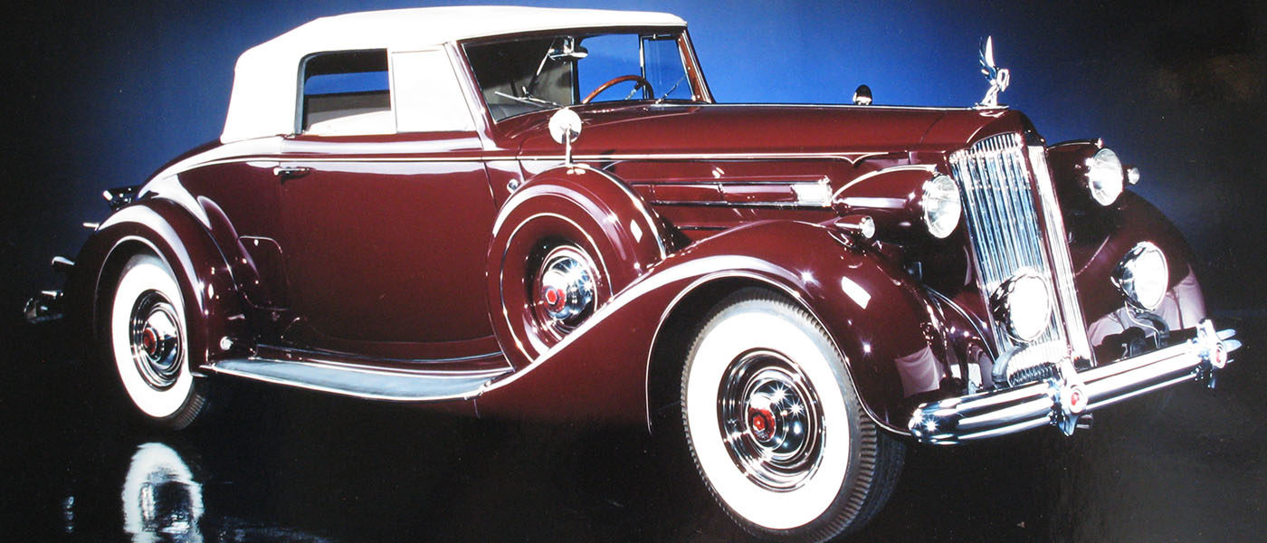 1937 Packard 1507 Coupe Roadster