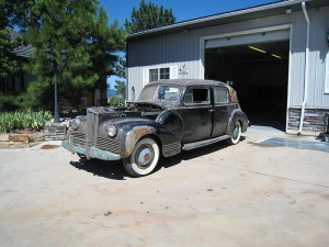 1942 Packard 180 Formal Sedan