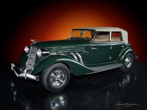 1936 Auburn S_C Phaeton