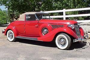 1935 SC Auburn Cabriolet