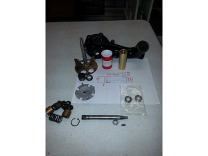 1936 Cadillac V12 Water Pump Modification