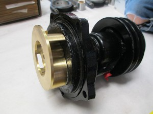 Packard 8 Water Pump Modification