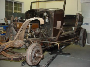 1934 Packard Tear down No. 4 114